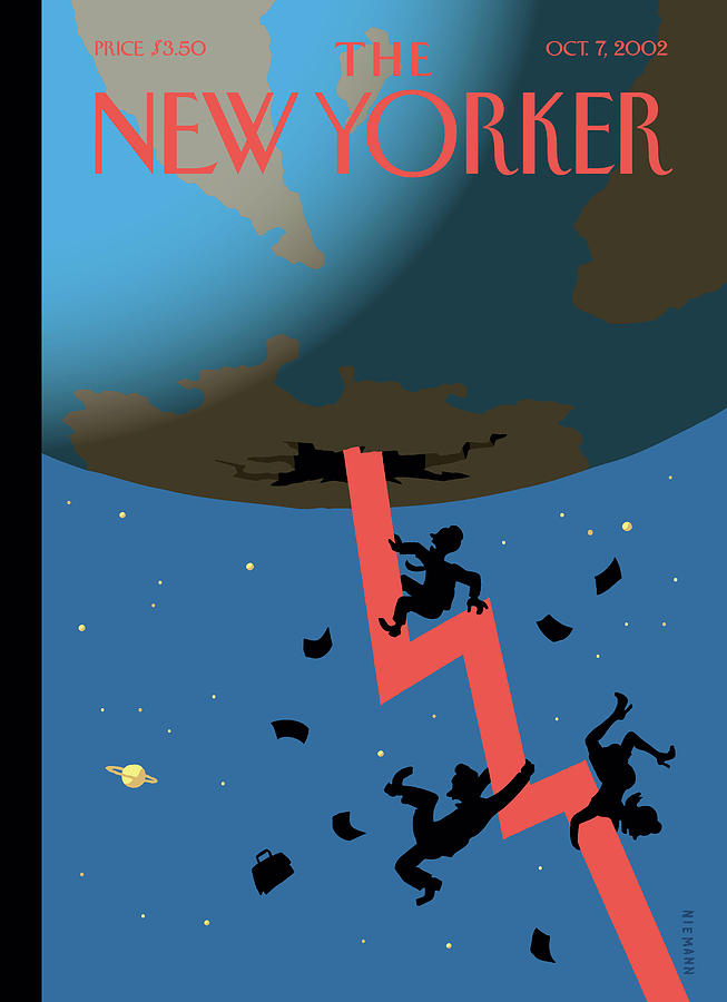New Yorker October 7th, 2002 Painting by Christoph Niemann