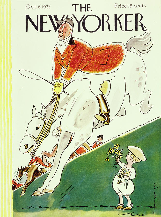New Yorker October 8 1932 Painting by Rea Irvin