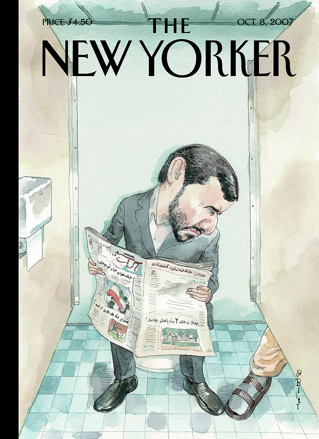 New Yorker October 8th, 2007 Painting by Barry Blitt