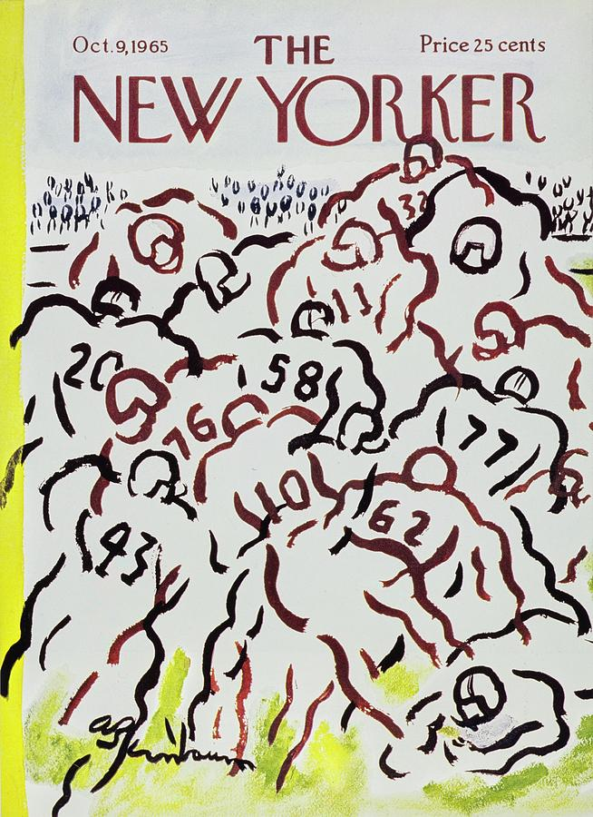 New Yorker October 9th 1965 Painting by Aaron Birnbaum