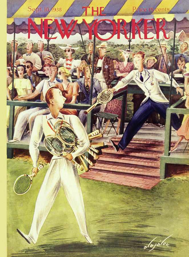 New Yorker September 10 1938 Painting by Constantin Alajalov