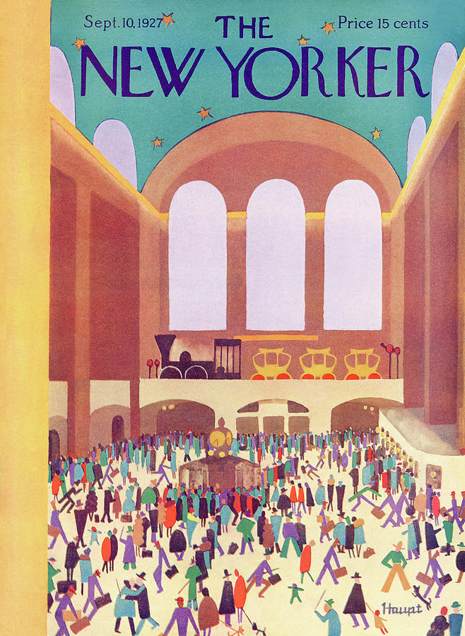 New Yorker September 10, 1927 Painting by Theodore G Haupt