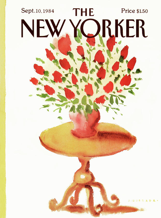 New Yorker September 10th, 1984 Painting by Abel Quezada