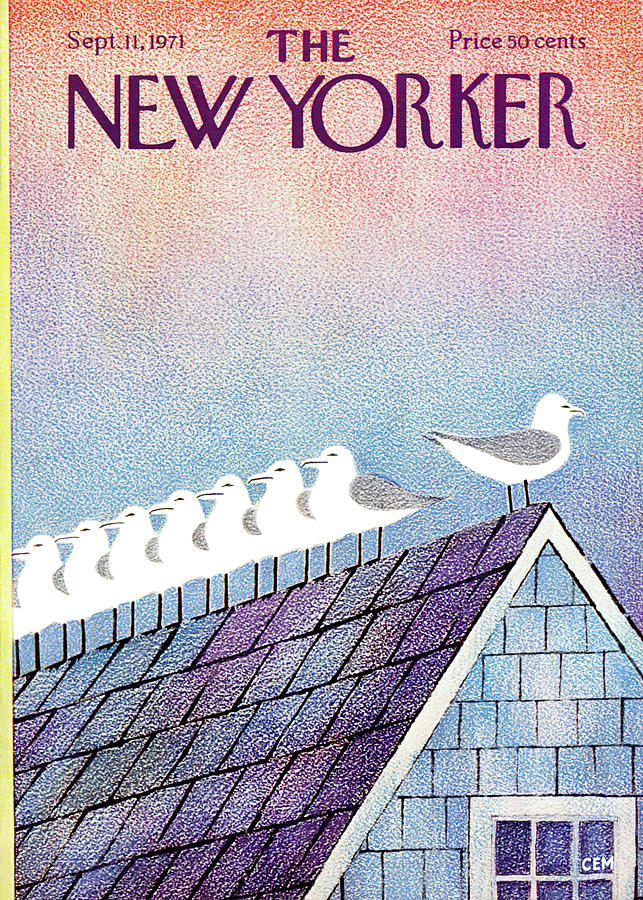 New Yorker September 11th, 1971 Painting by Charles E Martin