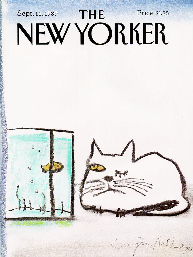 New Yorker September 11th, 1989 Painting by Eugene Mihaesco