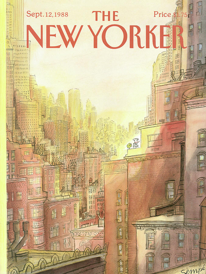 New Yorker September 12th, 1988 Painting by Jean-Jacques Sempe