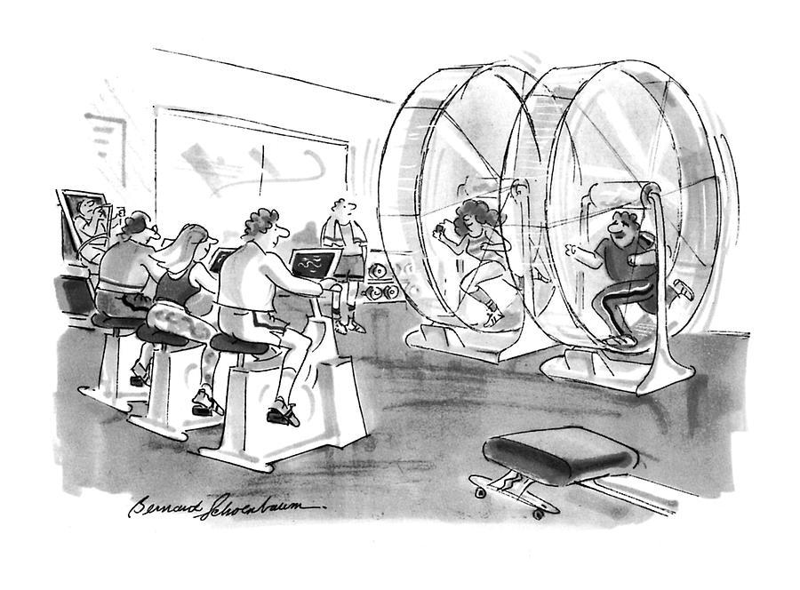New Yorker September 12th, 1994 Drawing by Bernard Schoenbaum