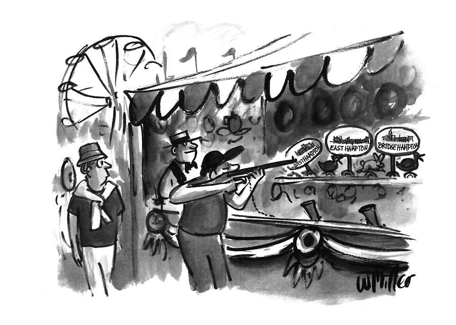 New Yorker September 12th, 1994 Drawing by Warren Miller