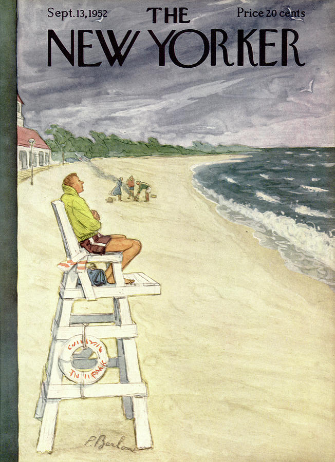 New Yorker September 13th, 1952 Painting by Perry Barlow