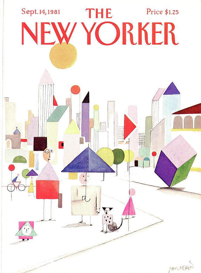 New Yorker September 14th, 1981 Painting by Paul Degen