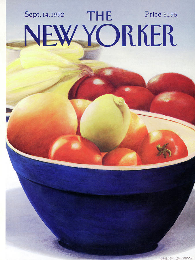 New Yorker September 14th, 1992 Painting by Gretchen Dow Simpson