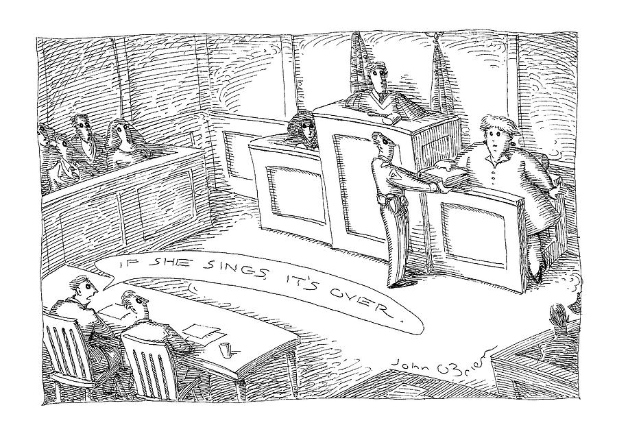 New Yorker September 14th, 1998 Drawing by John OBrien