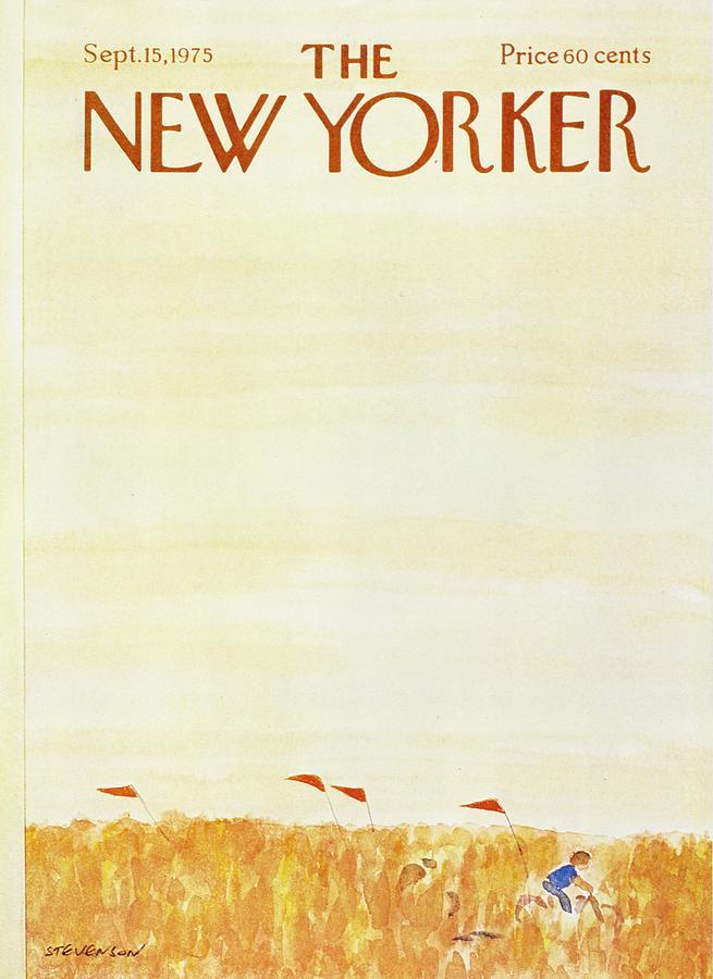 New Yorker September 15th 1975 Painting by James Stevenson