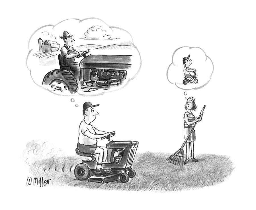 New Yorker September 15th, 1986 Drawing by Warren Miller