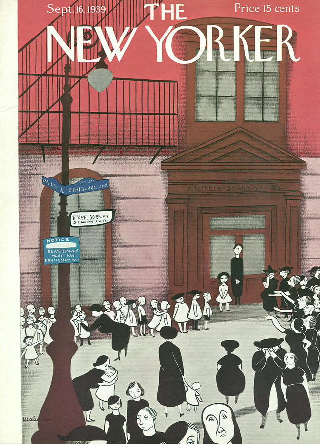 New Yorker September 16, 1939 Painting by Christina Malman