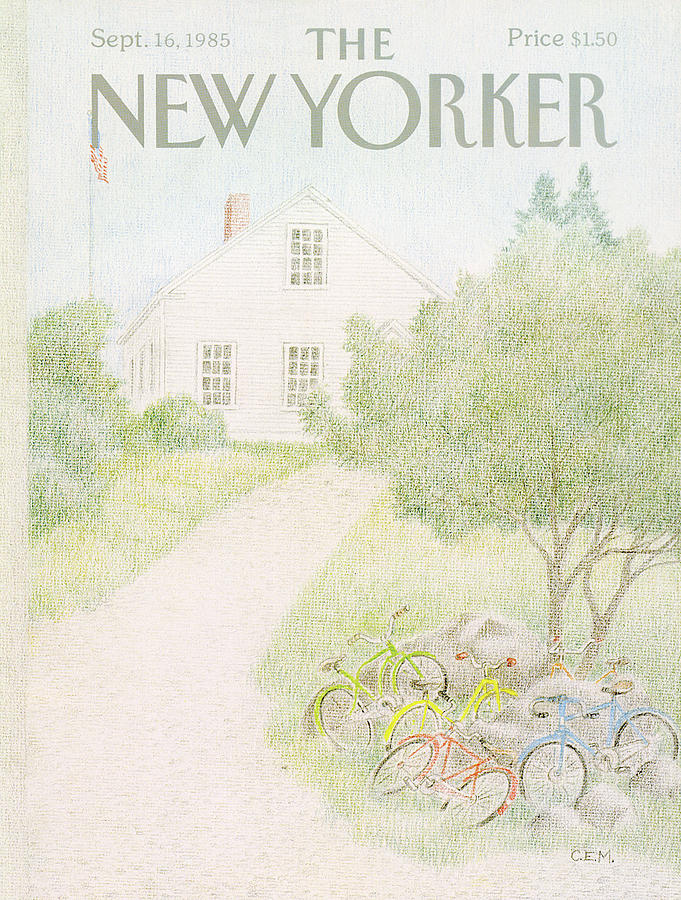 New Yorker September 16th, 1985 Painting by Charles E Martin