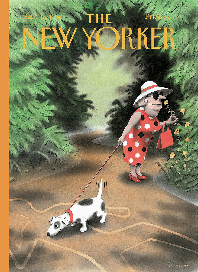 New Yorker September 16th, 1996 Painting by Ian Falconer