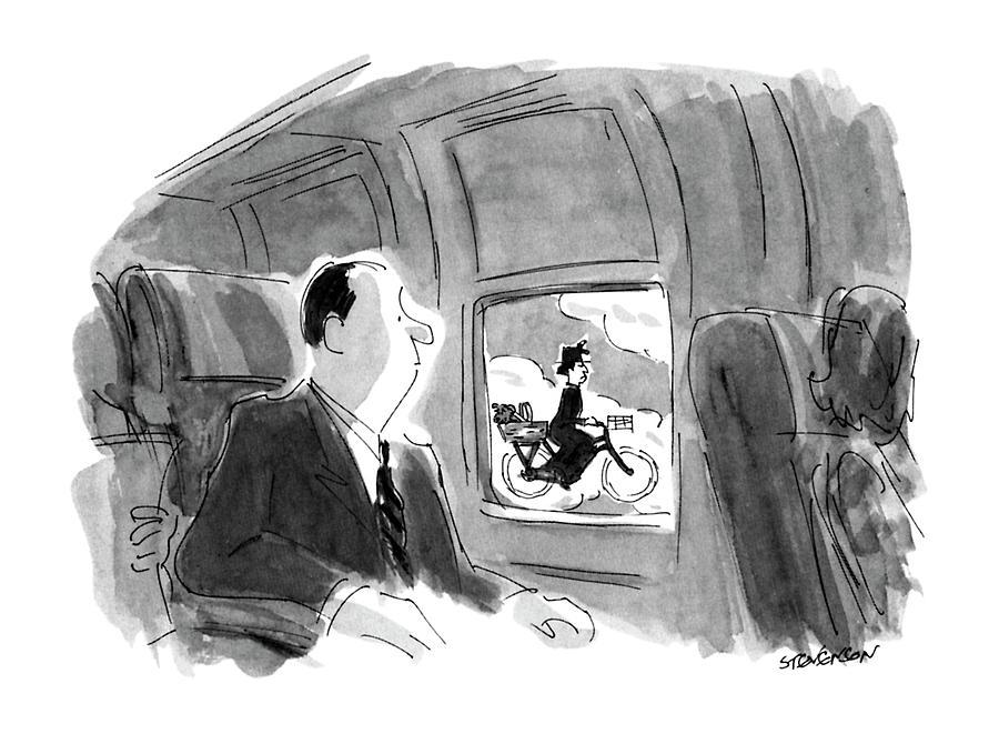 New Yorker September 17th, 1990 Drawing by James Stevenson
