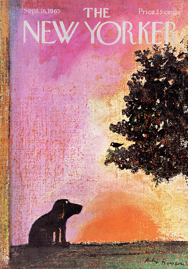 New Yorker September 18th, 1965 Painting by Andre Francois