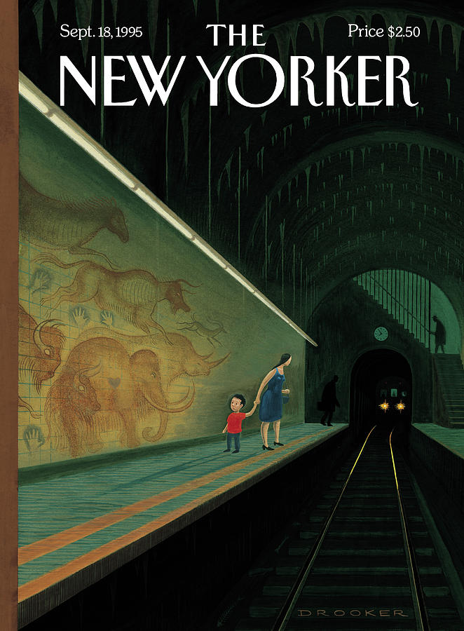New Yorker September 18th, 1995 Painting by Eric Drooker