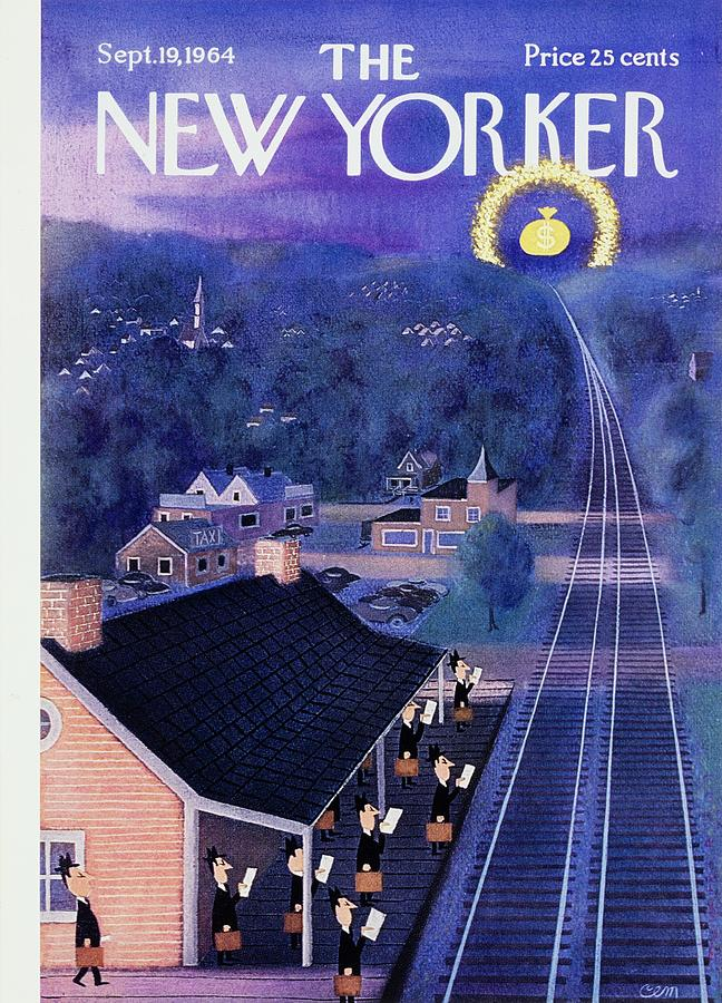 New Yorker September 19th 1964 Painting by Charles E Martin
