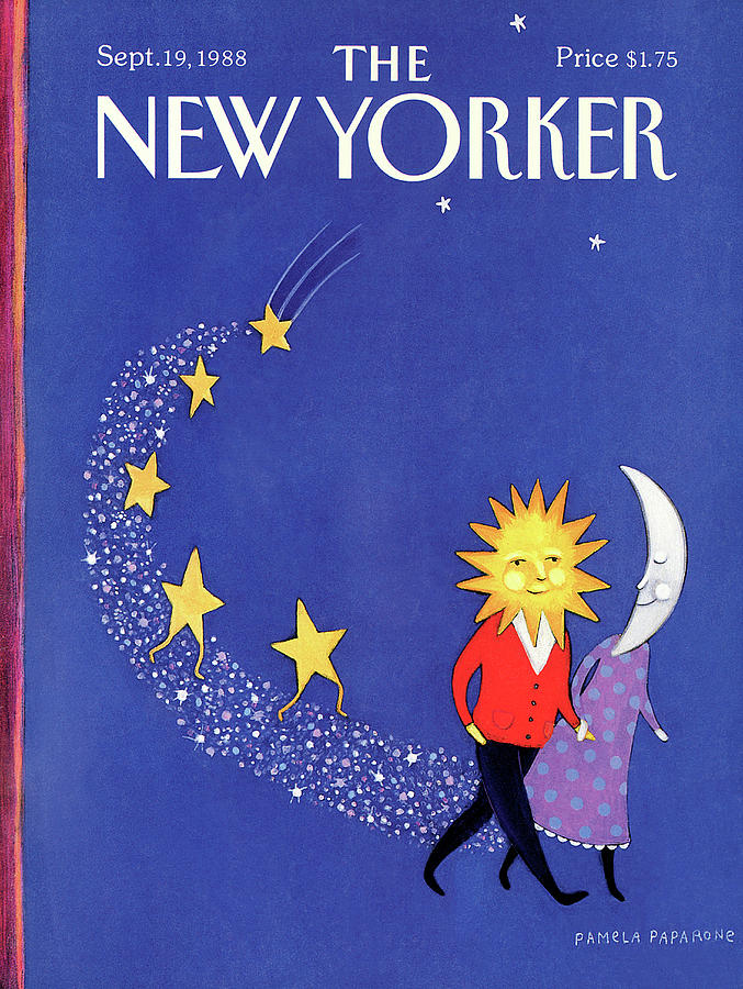 New Yorker September 19th, 1988 Painting by Pamela Paparone