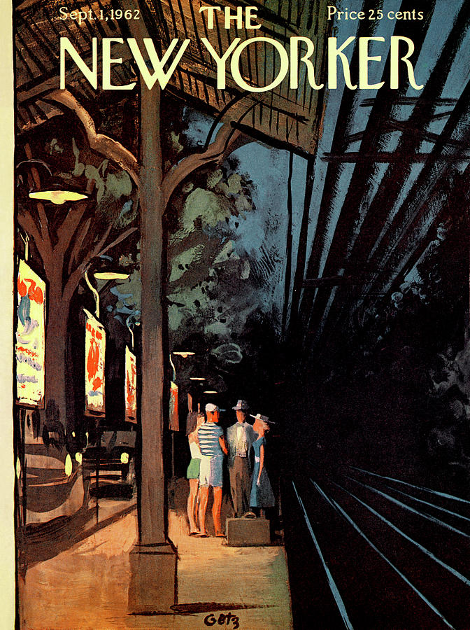 New Yorker September 1st, 1962 Painting by Arthur Getz