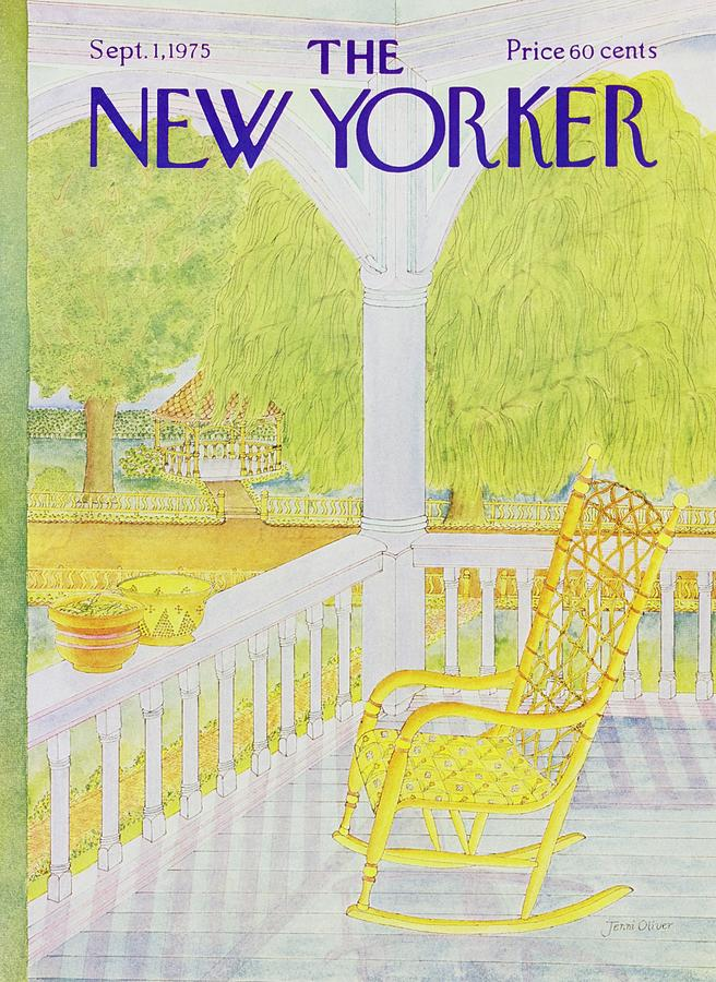 New Yorker September 1st 1975 Painting by Jenni Oliver