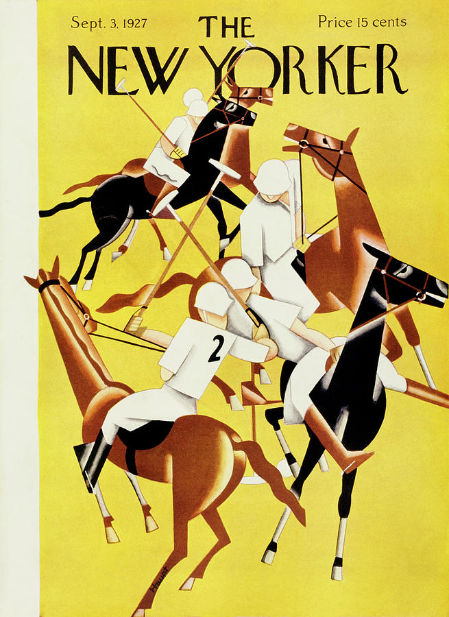 New Yorker September 3, 1927 Painting by Theodore G Haupt