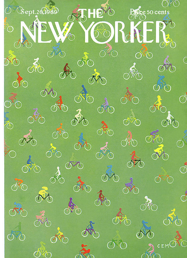 New Yorker September 20th, 1969 Painting by Charles E Martin