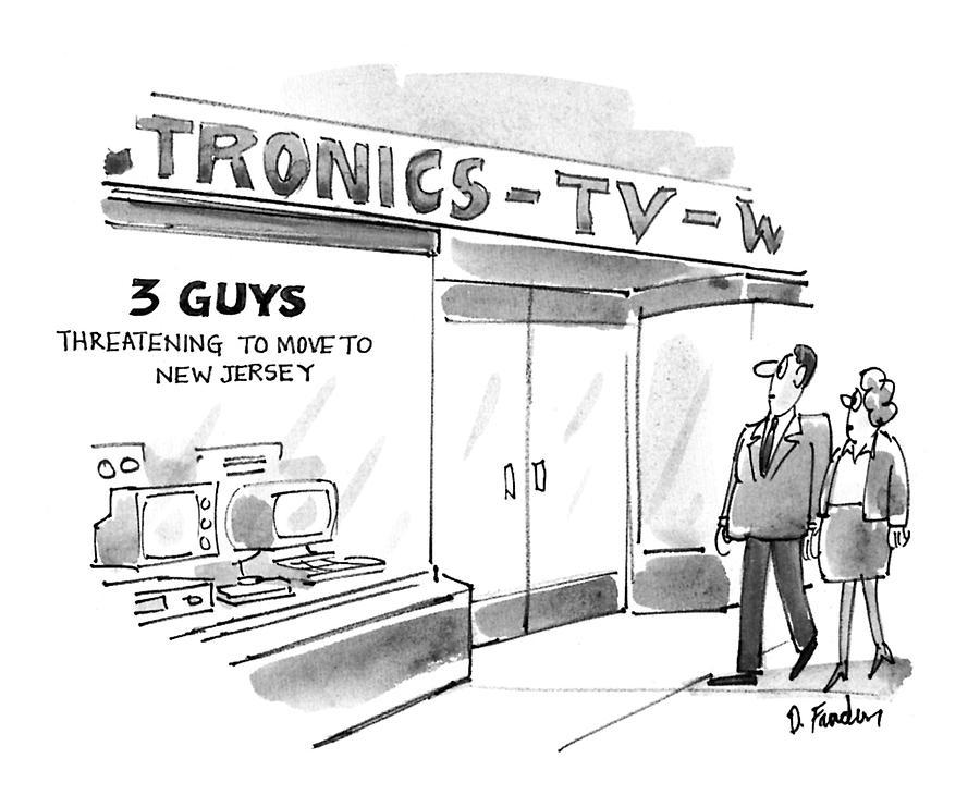 New Yorker September 20th, 1993 Drawing by Dana Fradon