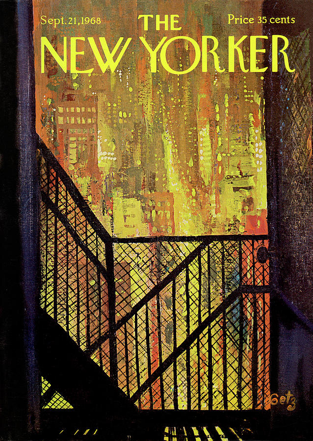 New Yorker September 21st, 1968 Painting by Arthur Getz