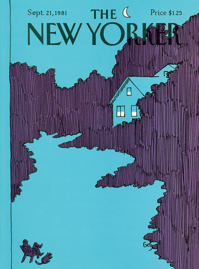 New Yorker September 21st, 1981 Painting by Arthur Getz