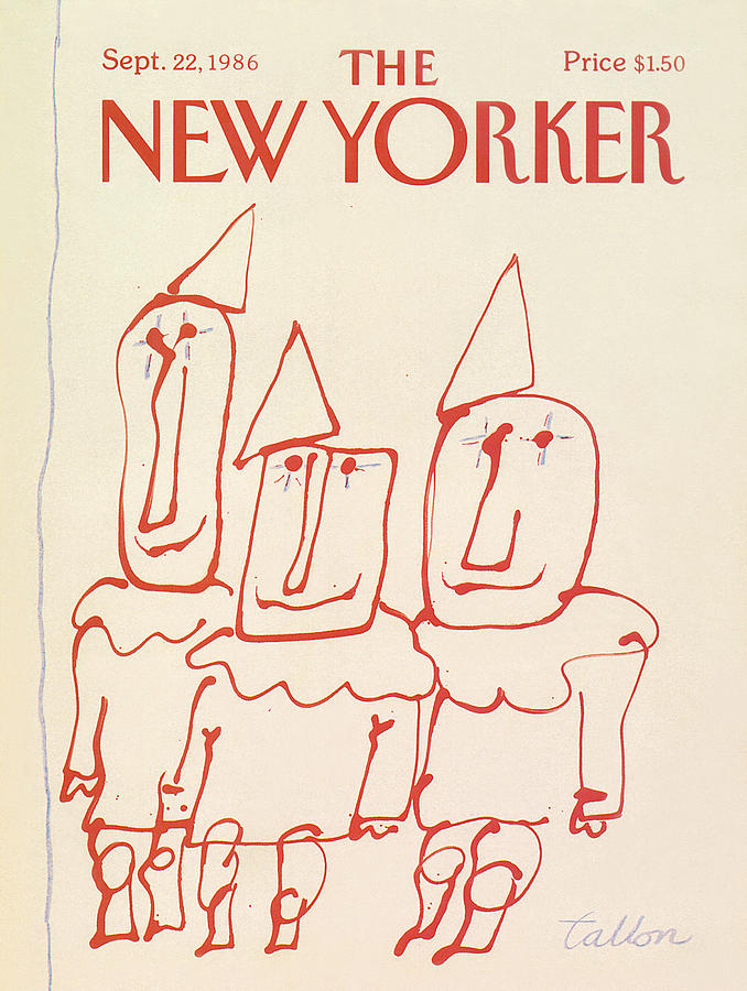 New Yorker September 22nd, 1986 Painting by Robert Tallon