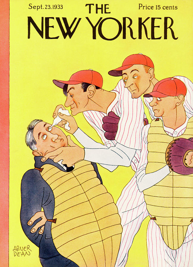 New Yorker September 23rd, 1933 Painting by Abner Dean