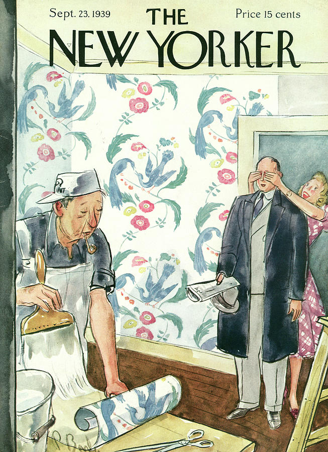 New Yorker September 23rd, 1939 Painting by Perry Barlow