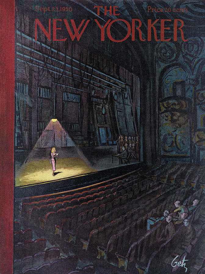 New Yorker September 23rd, 1950 Painting by Arthur Getz