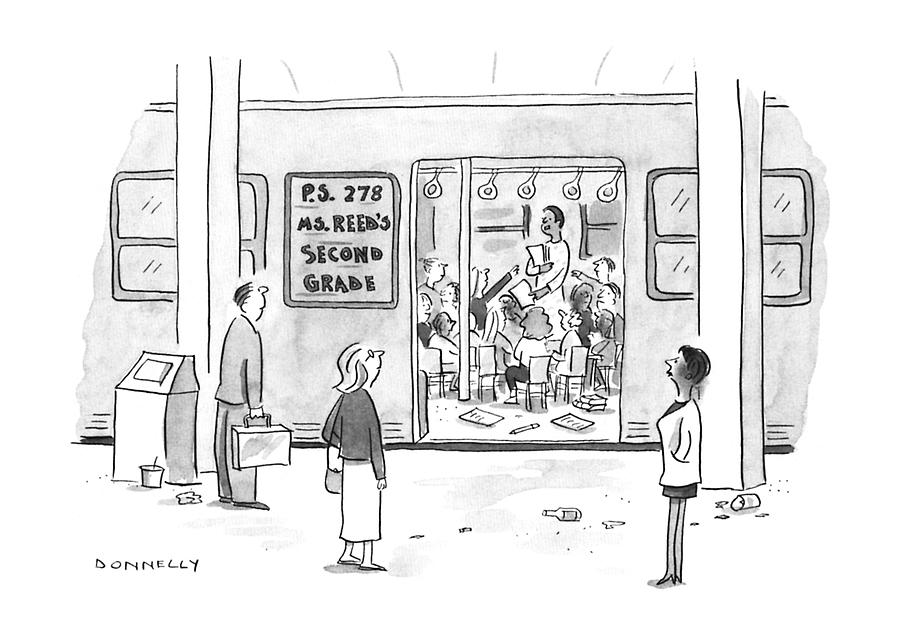 New Yorker September 23rd, 1996 Drawing by Liza Donnelly