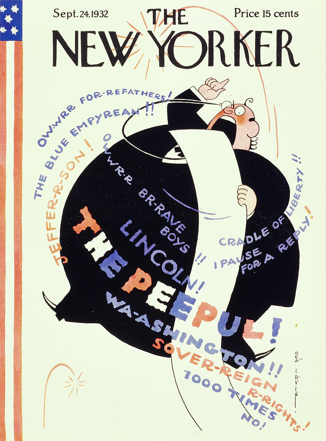 New Yorker September 24 1932 Painting by Rea Irvin
