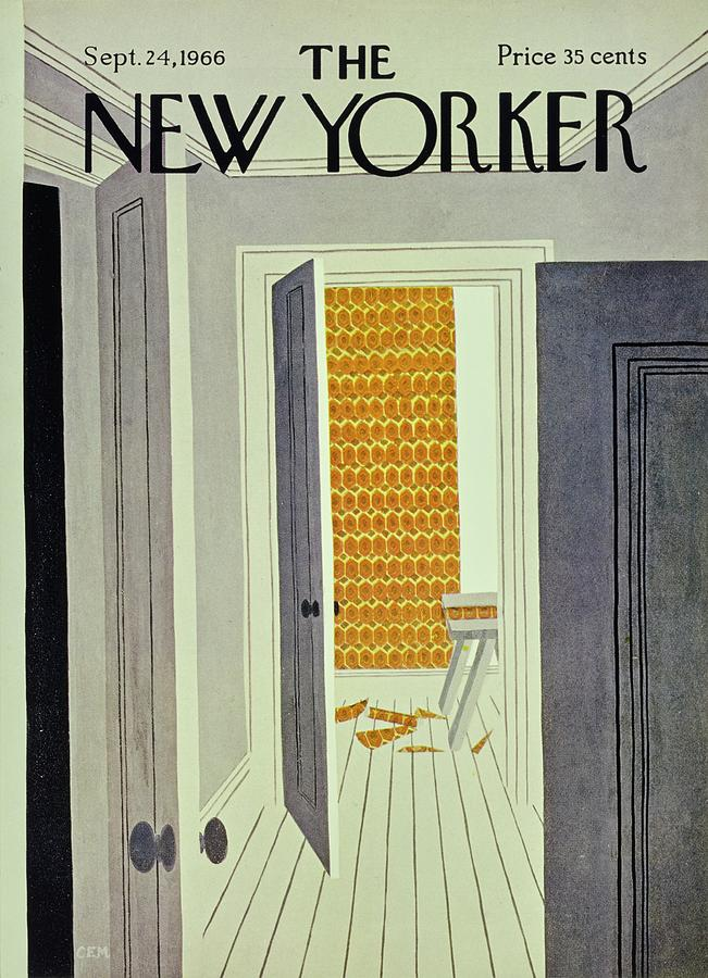 New Yorker September 24th 1966 Painting by Charles E Martin