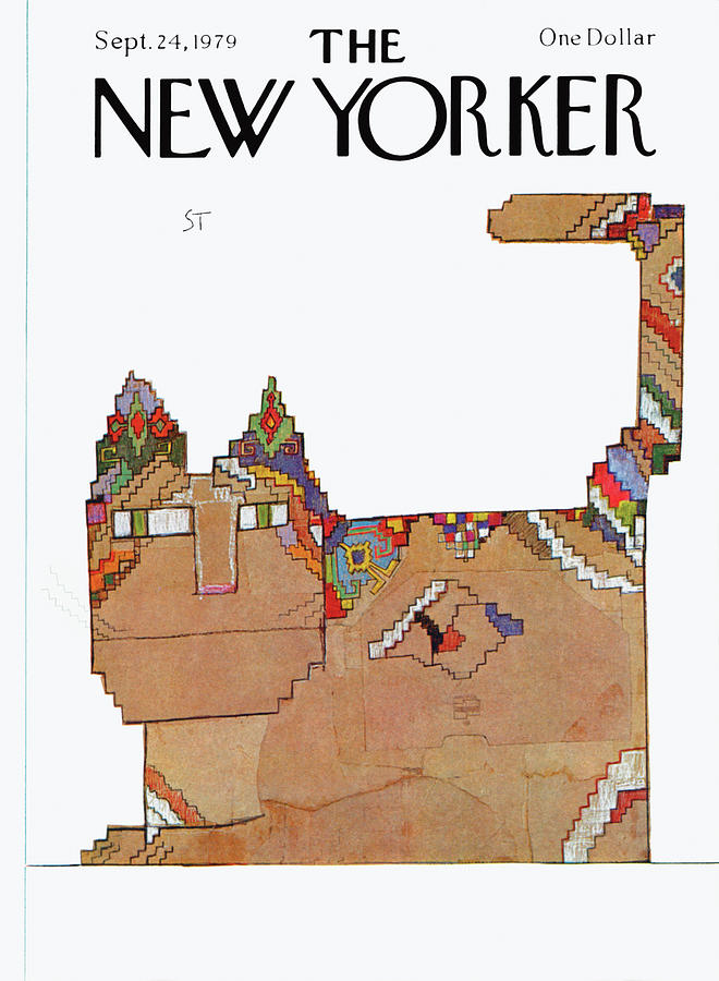 New Yorker September 24th, 1979 Painting by Saul Steinberg