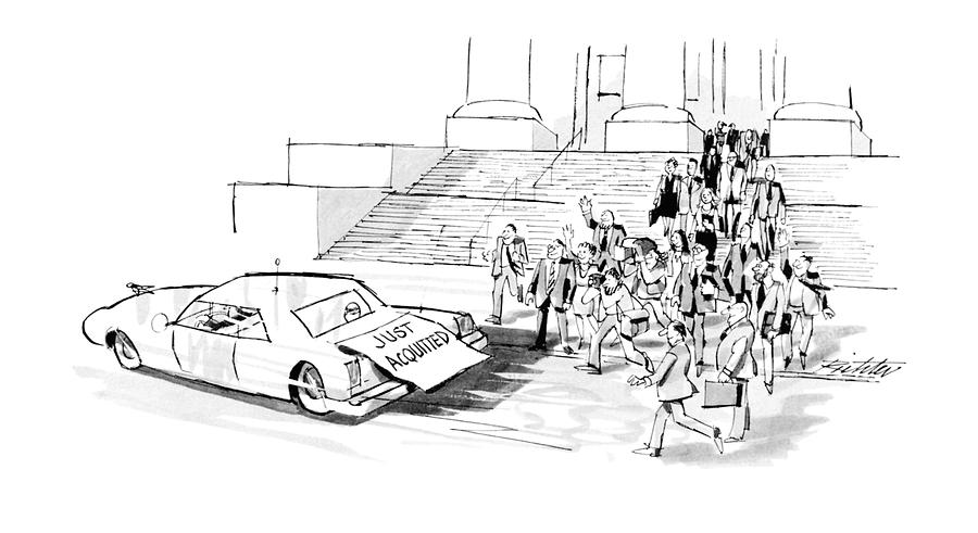 New Yorker September 24th, 1990 Drawing by Mischa Richter