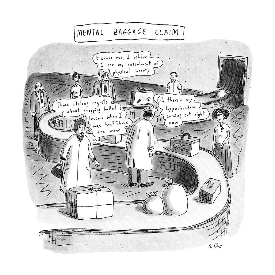 New Yorker September 24th, 1990 Drawing by Roz Chast