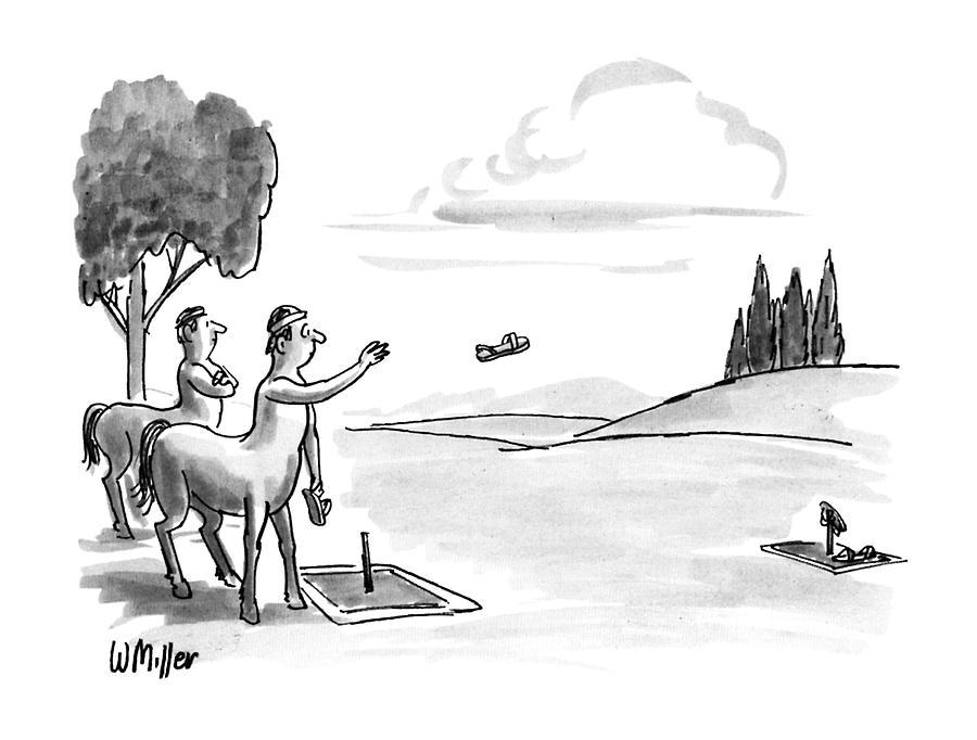 New Yorker September 24th, 1990 Drawing by Warren Miller