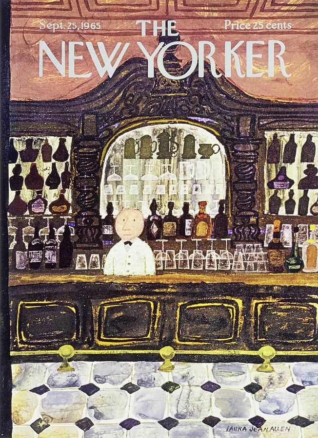 New Yorker September 25th 1965 Painting by Laura Jean Allen