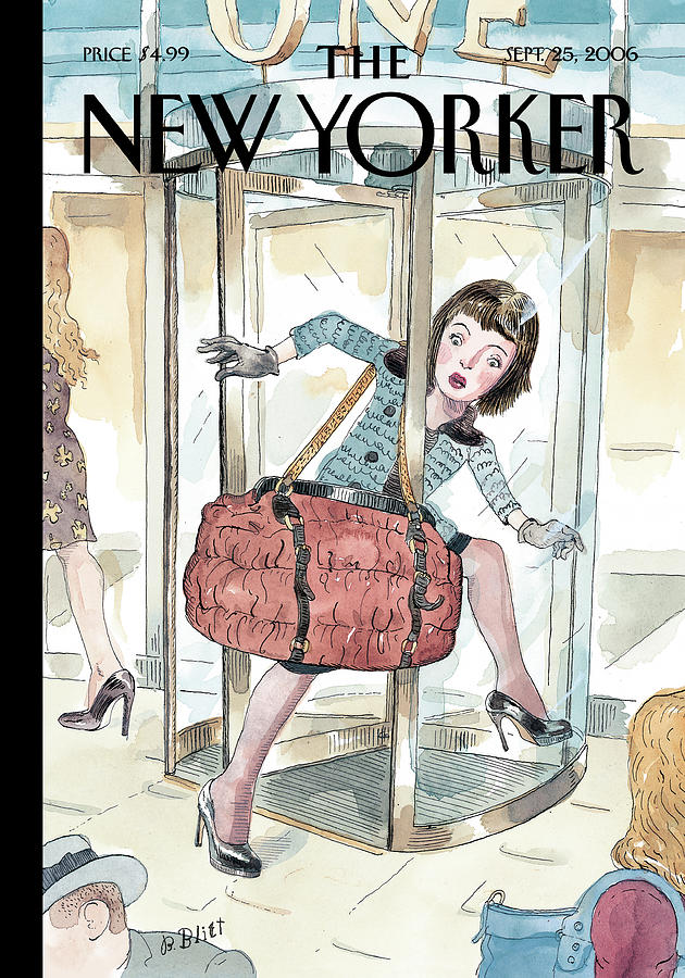 So In Its Out Painting by Barry Blitt