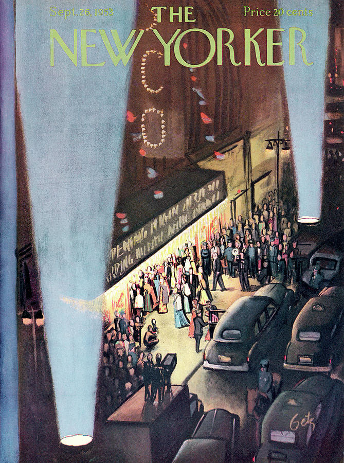 New Yorker September 26th, 1953 Painting by Arthur Getz