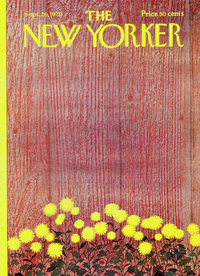 New Yorker September 26th 1970 Painting by Charles Martin