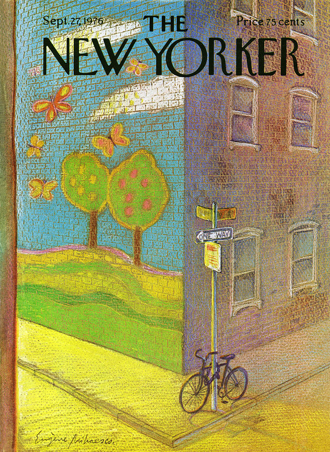 New Yorker September 27th, 1976 Painting by Eugene Mihaesco