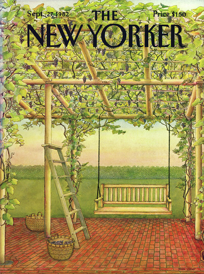 New Yorker September 27th, 1982 Painting by Jenni Oliver